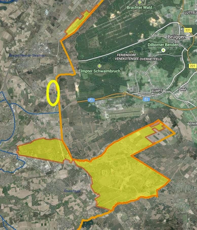 Meinweg gebied en Meerlebroek leefgebied wilde zwijnen Limburg