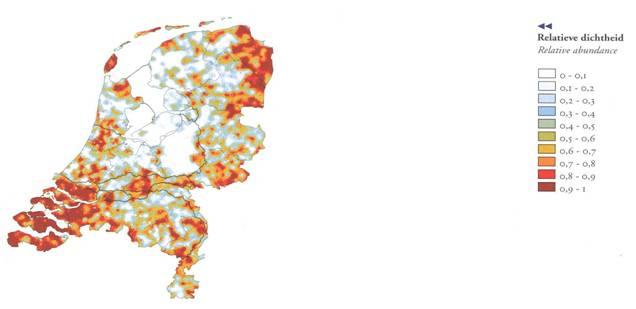 vovoorkomen fazant in Nederland